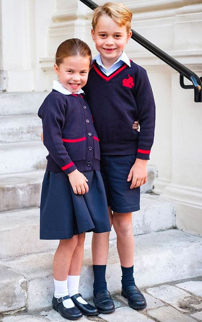 prince george princess charlotte school photos