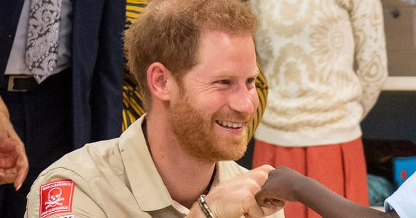 Prince Harry Fist-Bumping a Little Boy at the New Princess Diana Hospital Is the Cutest Video We've Seen All Week