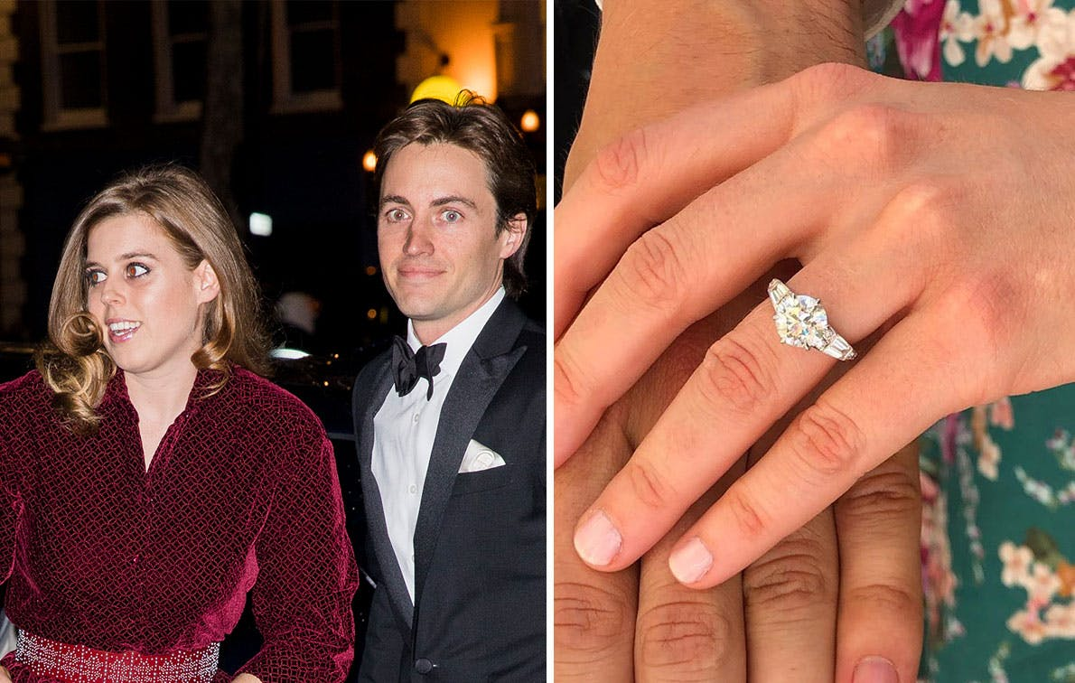 All The Details Of Princess Beatrice S Engagement Ring Purewow