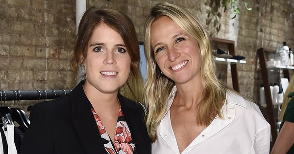 Princess Eugenie Made a Surprise Appearance at NYFW to Support Meghan Markle's BFF