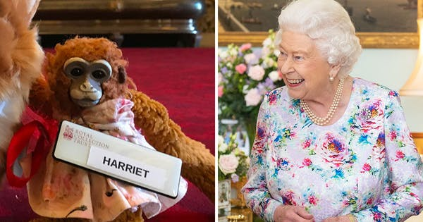 Queen Elizabeth Found and Returned a Toy Monkey to a Schoolgirl After She Left It at Buckingham Palace