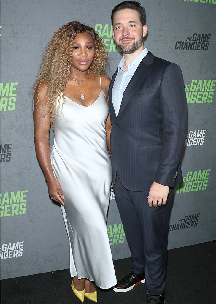 serena williams alexis ohanian game changers premeire