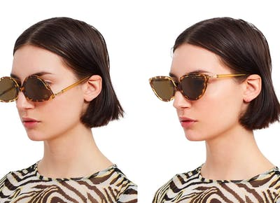 upside down sunglasses