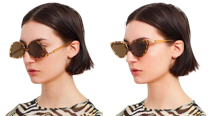 These Sunglasses Can Be Worn Upside-Down and...WHY?!