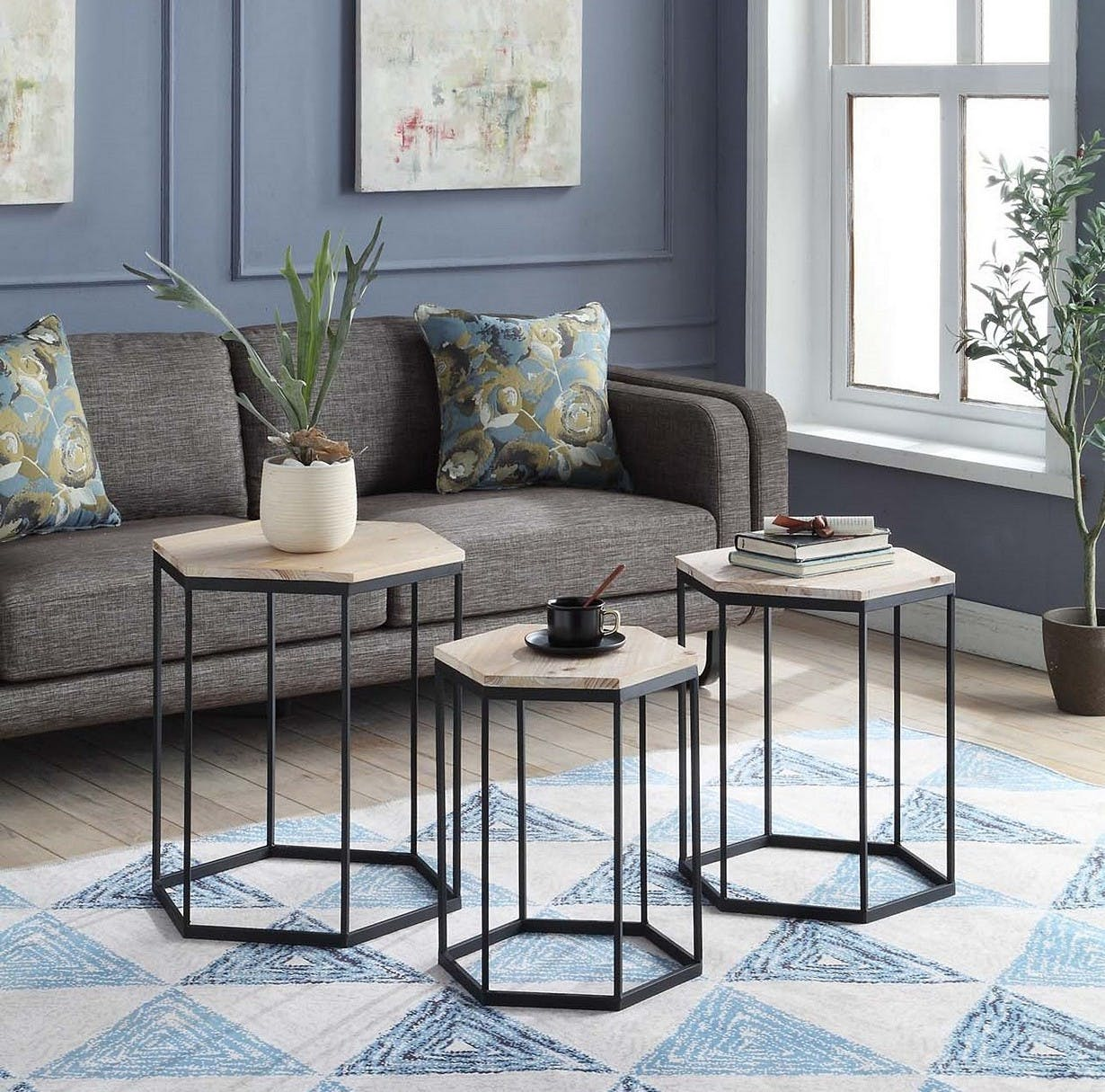 7 Coffee Table Alternatives for Small Living Rooms - PureWow