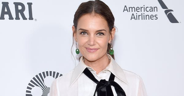 Katie Holmes Proves That This Halloween-Themed Color Combo Actually Works IRL