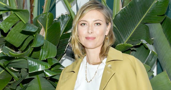 The One Thing Maria Sharapova Absolutely Swears by but Isn't Always Attainable (Yes, This Is a Riddle)