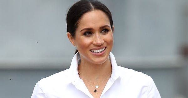 I've Been Wearing One of Meghan Markle's Go-To White Button-Downs on Repeat