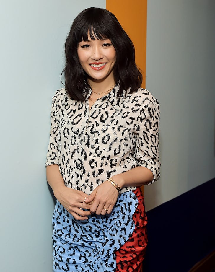 Most Flattering Haircuts for Oval Faces Constance Wu