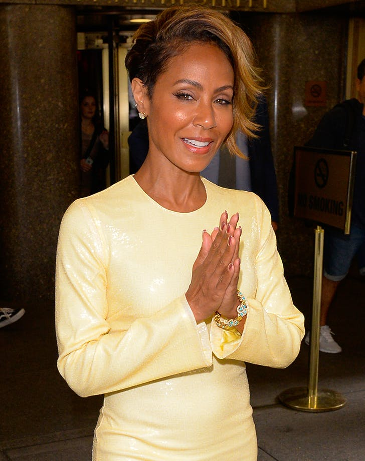Most Flattering Haircuts for Oval Faces Jada Pinkett Smith