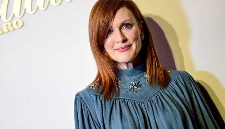 Most Flattering Haircuts for Oval Faces Julianne Moore