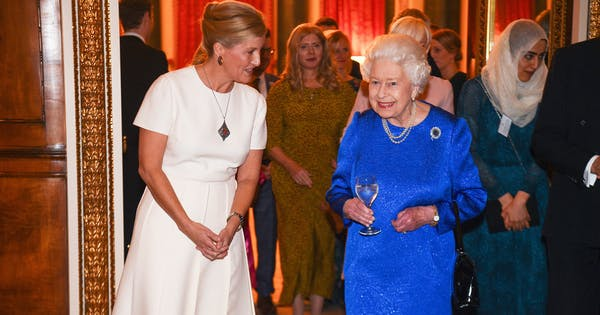 Queen Elizabeth Hosted Quite the Party at Buckingham Palace This Week
