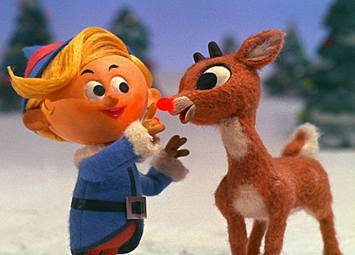 Rudolph the Red Nosed Reindeer animated christmas movies
