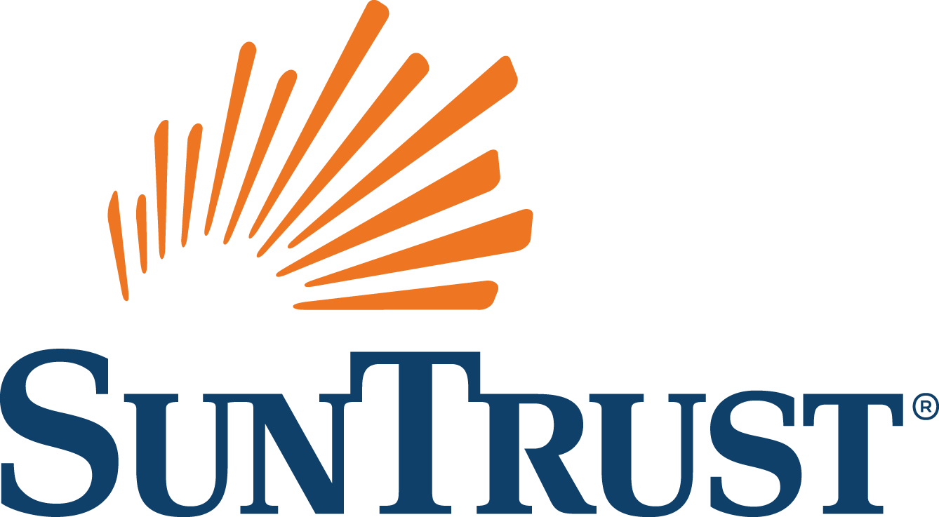 SunTrust  R  4C CMYK Color Logo