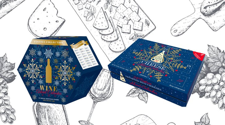 PSA: Aldi's Wine and Cheese Advent Calendars Are Back and Better Than Last Year's