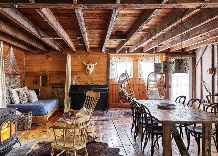 airbnb the barn in tivoli interior