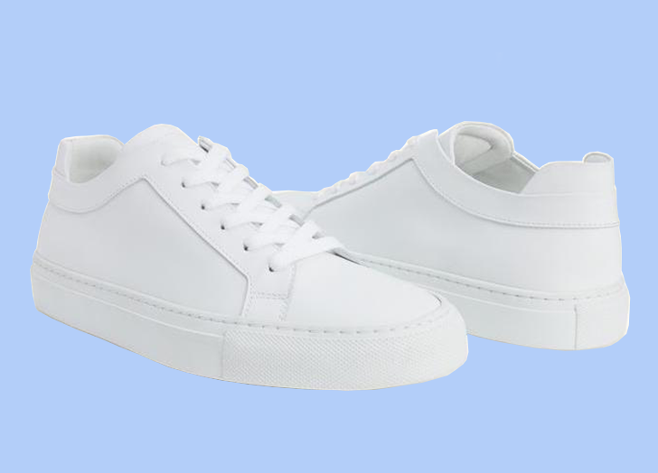most comfortable all white sneakers