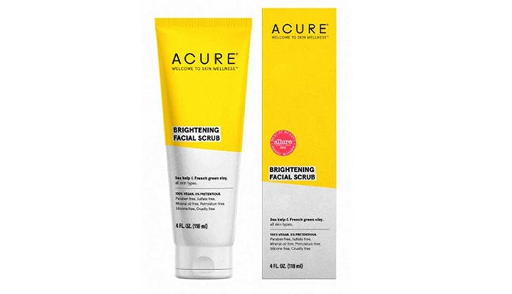 best whole foods beauty products acure facial scrub