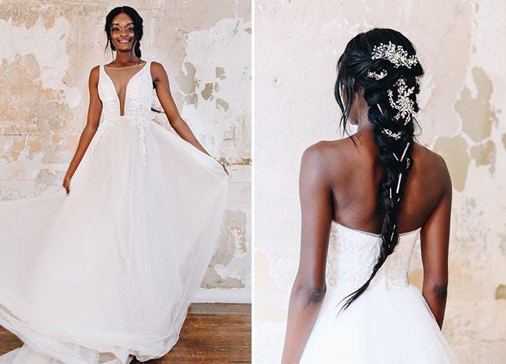 davids bridal boho