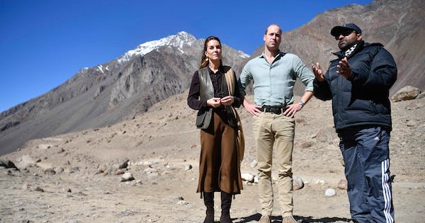 Kate Middleton Praised Prince William's Geography Skills While Bringing Attention to Global Warming