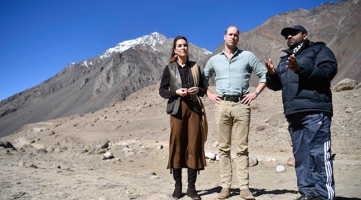 Kate Middleton Praised Prince Williams Geography Skills While Bringing Attention to Global Warming