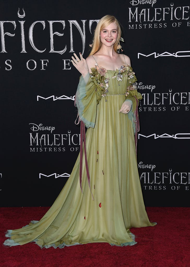 Elle Fanning Channels Princess Aurora For Maleficent