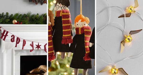 Pottery Barn S New Harry Potter Holiday Collection Purewow