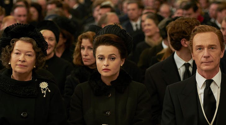 Helena Bonham Carter Got Princess Margaret's OK to Play Her in 'The Crown'…from a Psychic