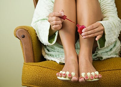Here's Exactly How to Give Yourself the Best at Home Pedicure