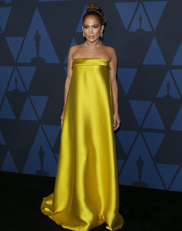 Jennifer Lopez 2019 Governors Awards Red Carpet Purewow