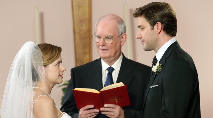 Jim & Pam's Wedding on 'The Office' Was Supposed to Have an Entirely Different Ending