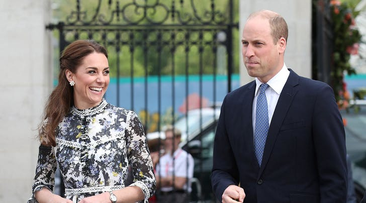 Kate Middleton and Prince William Just Had a Secret Meeting with an American at Kensington Palace