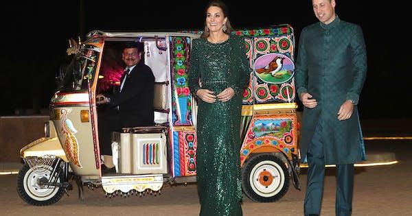 Kate Middleton Glitters (Literally) inJenny Packham Evening Gown