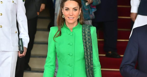 Kate Middleton Wore Not 1, But 2 New Daytime Looks on Her Pakistan Tour