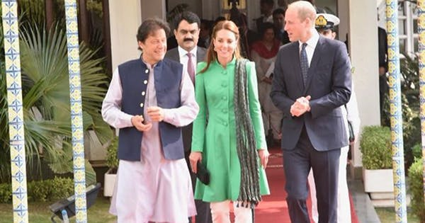 Prince William Kate Middleton Just Met with the Pakistani Prime Minister, an Old Friend of Princess Di