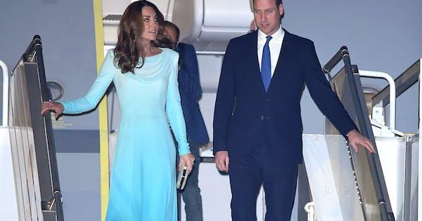 Kate Middleton Channels Princess Diana in Blue Catherine Walker Ensemble