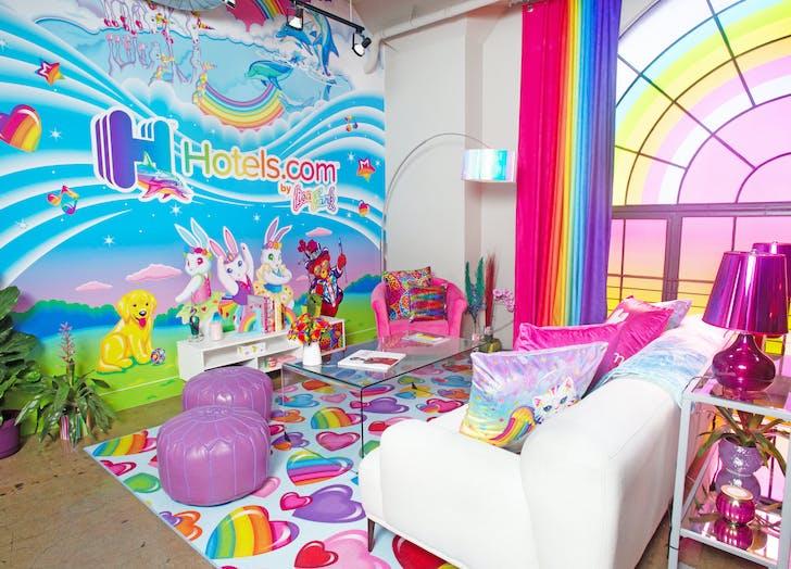 lisa frank loft Lounge Wall
