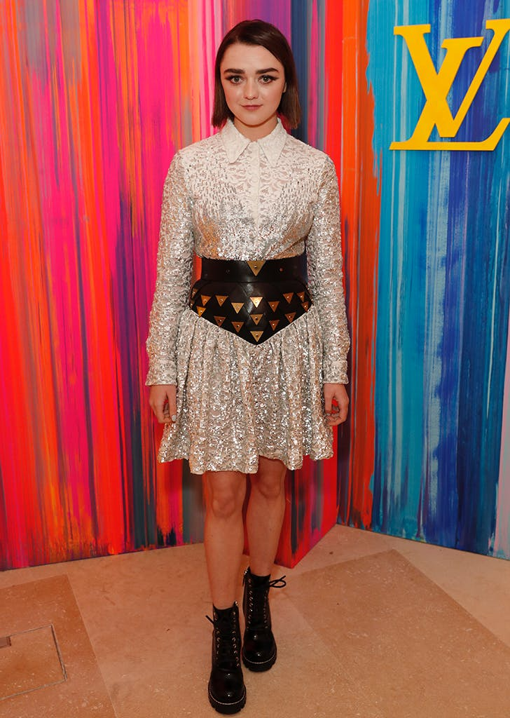 maisie williams louis vuitton
