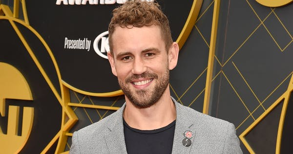 Nick Viall Dressed Up as New Bachelor Peter Weber for Halloween (Forehead Injury Included)