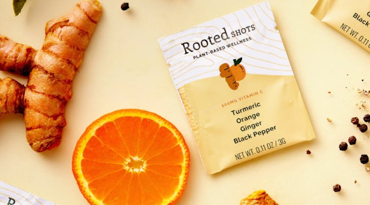 Rooted Shots Turmeric Packs Are the One Thing Getting Me Through Cold Season