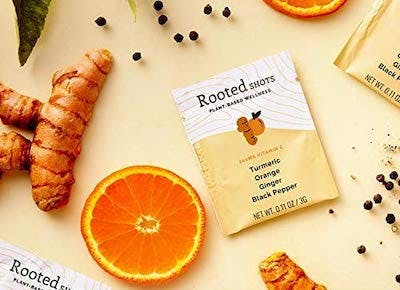 rooted shots turmeric category