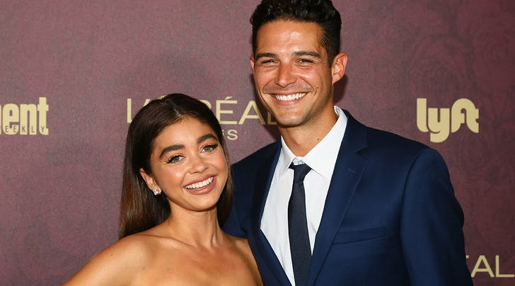 Here's Why Wells Adams Nearly Had to Propose to Sarah Hyland in an Airport