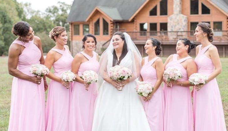 serena williams bridesmaid
