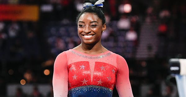 It's Official! Simone Biles Is the Most Decorated Female Gymnast in History