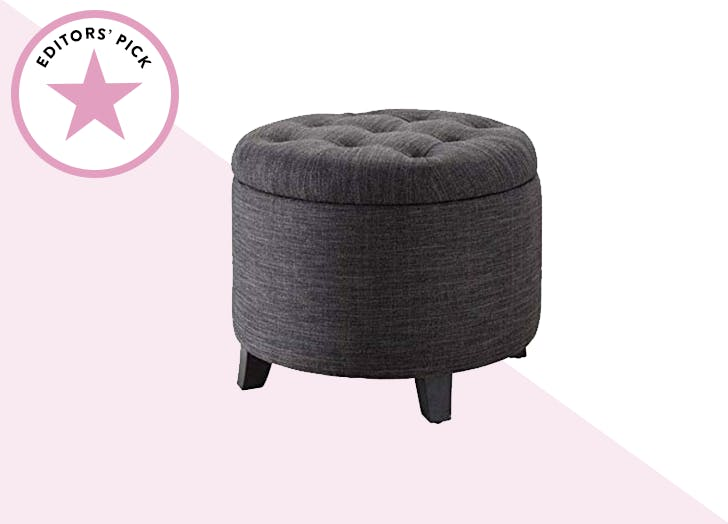 Incredible The Best Storage Ottomans On Amazon Purewow Ncnpc Chair Design For Home Ncnpcorg