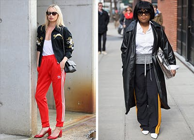 How To Dress Up Sweatpants Purewow