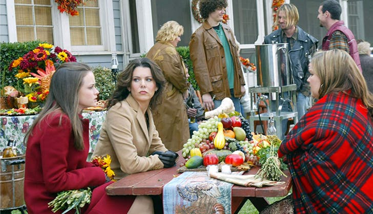 thanksgiving episodes golmore girls