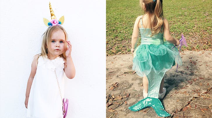 The Hell with Princesses! Let's Talk About the Gender Politics of Little Girls in Unicorn and Mermaid Costumes