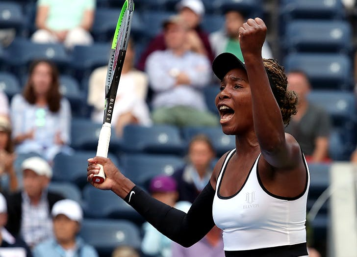 Venus Williams Says She Prefers a Fist Bump to a Handshake Pre-Match (& Not Just Because of Germs)