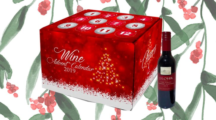 Joy to the World! This Wine Advent Calendar Comes with 12 Bottles of Red, White and Sparkling